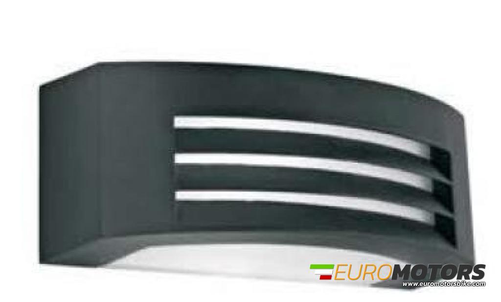 Plafoniere E27 Esterno : Af91011 lampada applique plafoniera parete muro esterno interno con