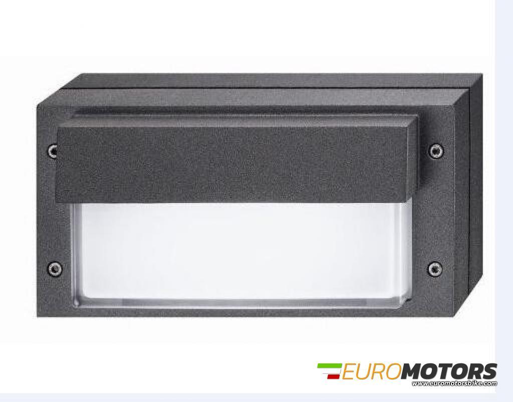 Plafoniere E27 Esterno : Af91033 lampada applique plafoniera parete muro esterno interno con