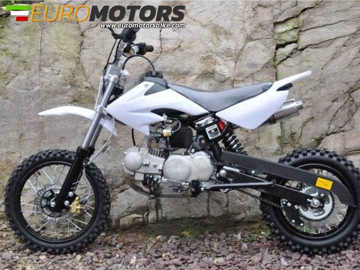 PIT BIKE CRF50 125CC YX 14-12 CROSS MINICROSS A MARCE CON FRIZIONE 4 TEMPI