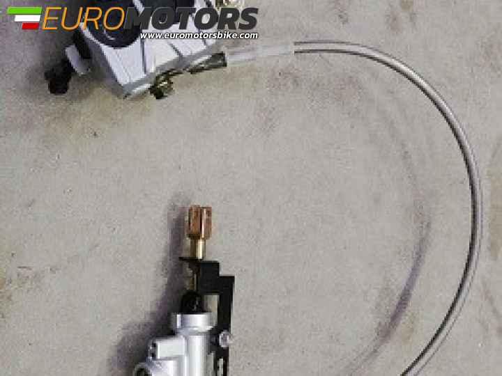 Kshzmoto Accessori universali CNC per motocicli Lega di alluminio per gasolio Filtro benzina per plastica trasparente Rimovibile e lavabile in nero